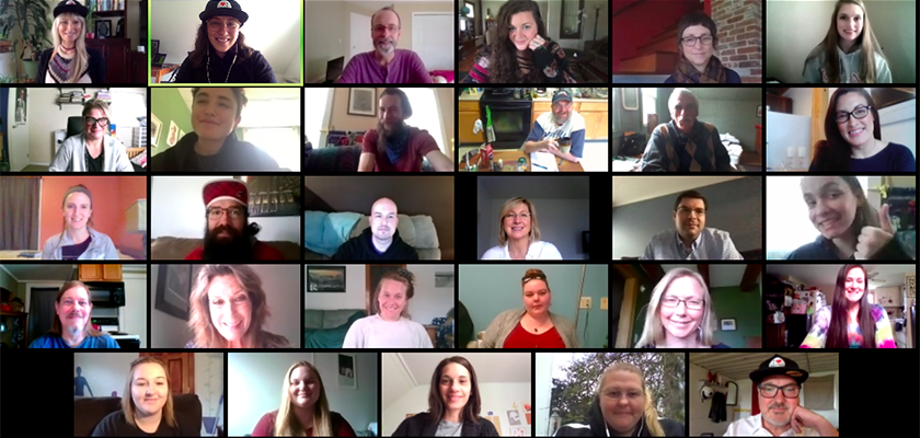 Collage of Recovery Coach Academy Faces