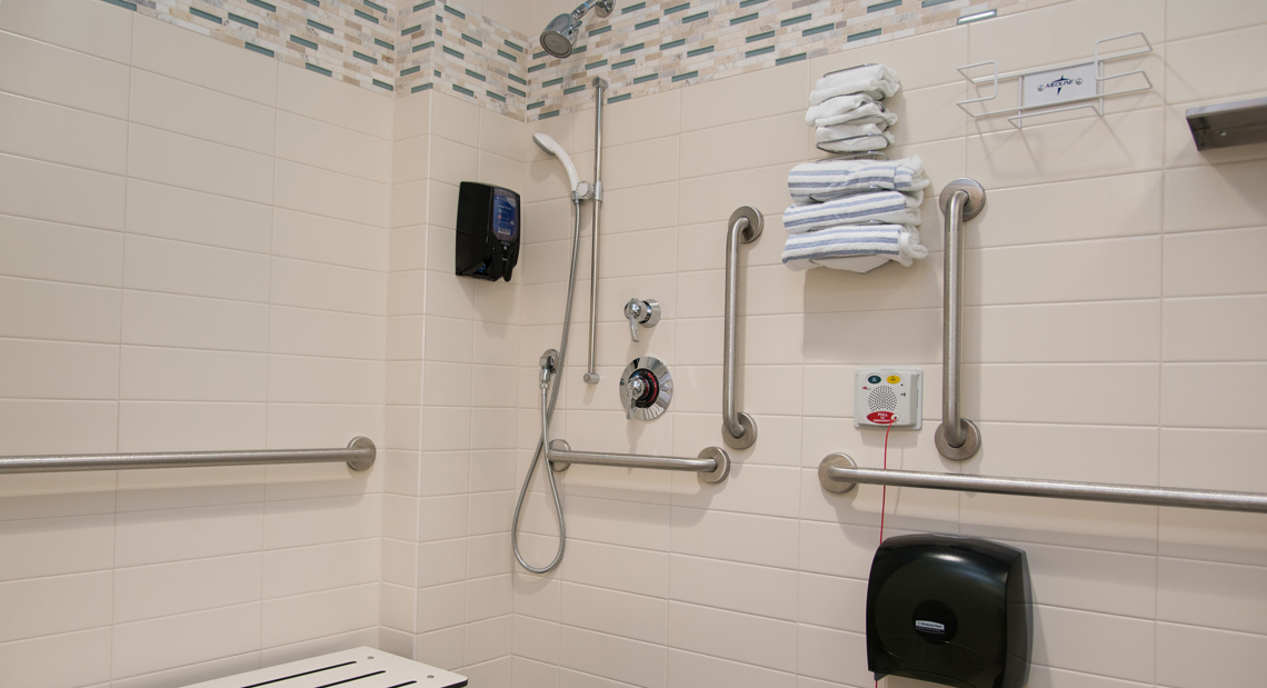 Mother Baby Unit Spacious Shower