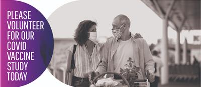 Older Couple Wearing Masks