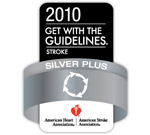 American Heart Association/American Stroke Association Silver Plus Award