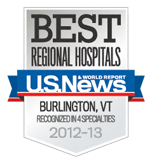 U.S. News Best Regional Hospitals Award