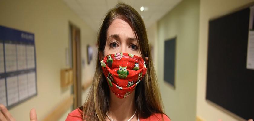 UVM Medical Center nurse Kathleen Keenan