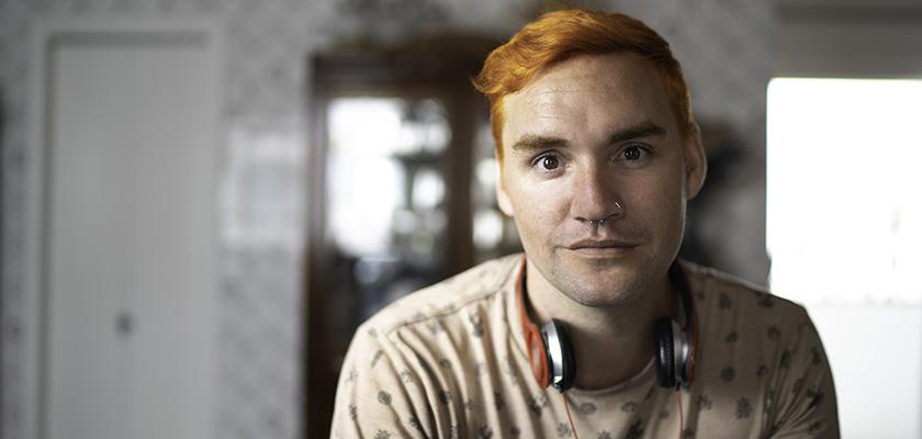 Young LGBTQ man