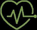 EKG Heart Icon