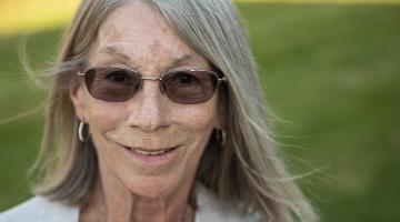 Portrait of Lynne Niebling, COVID-19 Vaccine trial participant.